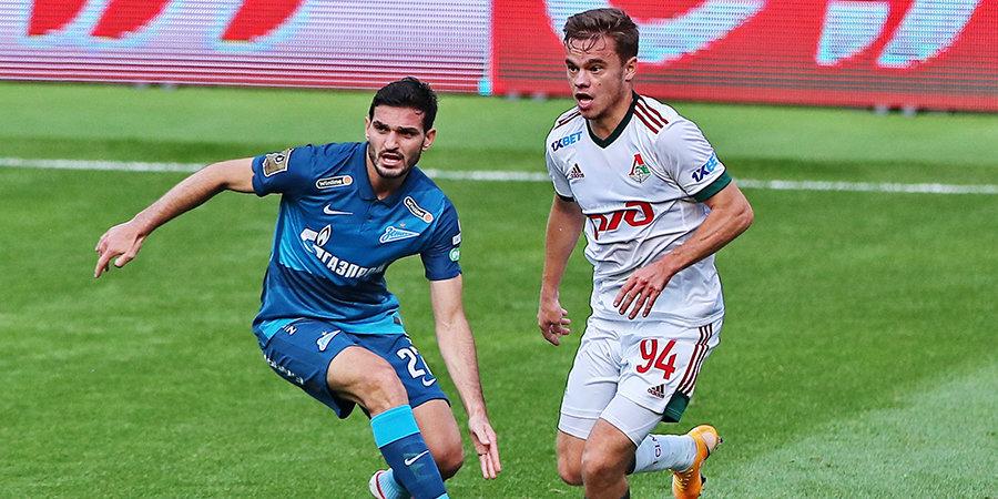 Болельщики «Зенита» выбрали лучший гол в первой части сезона