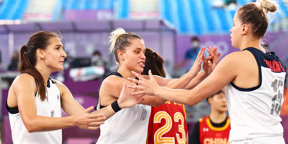 Женская сборная России по баскетболу 3х3 вслед за мужской вышла в финал Олимпиады