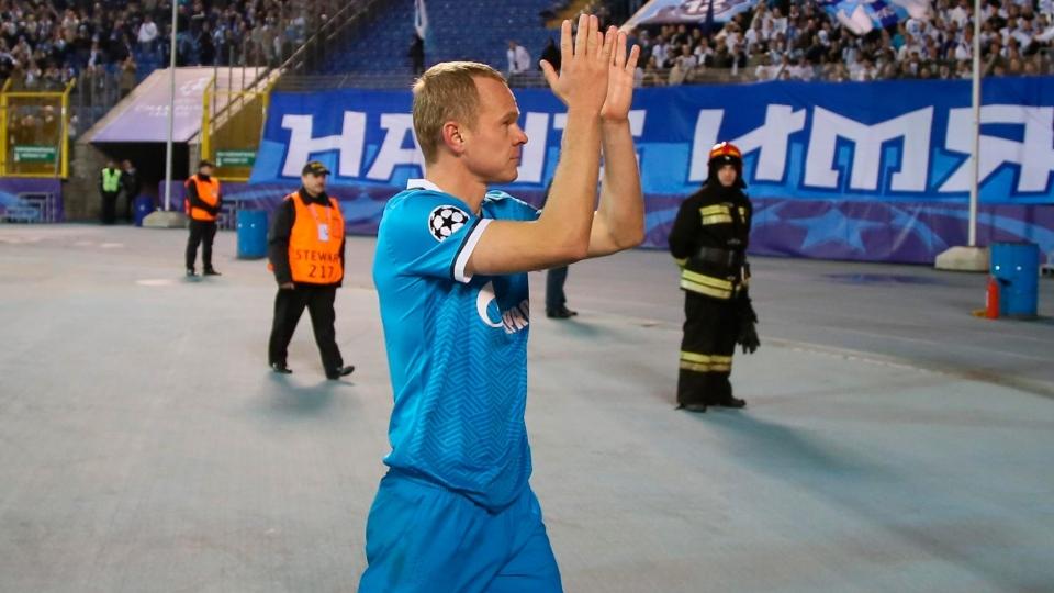 Анюков стал рекордсменом «Зенита»