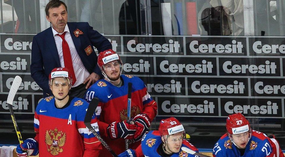 Сборная России обыграла немцев благодаря дублям Шипачева и Кучерова
