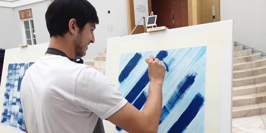 «Синие квадраты» игроков «Зенита» проданы на благотворительном аукционе