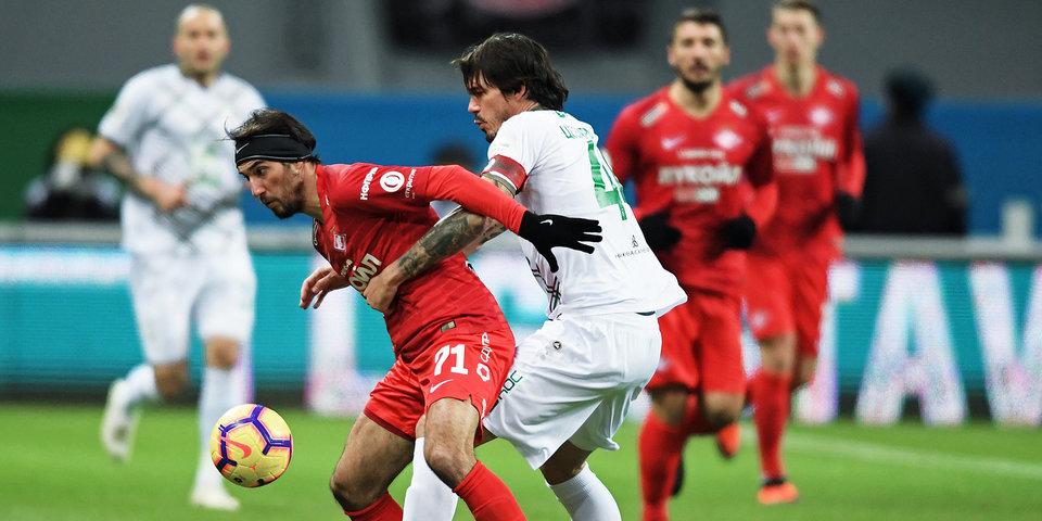 СМИ: Скаут «Манчестер Юнайтед» посетил матч «Рубин» — «Спартак»