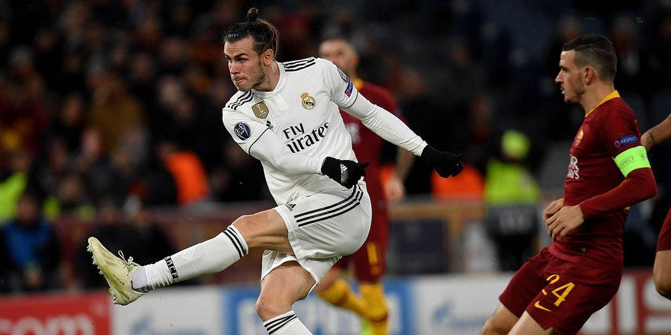 «Реал» должен был проигрывать, но затем дважды забил. Смотри, как не попал в пустые ворота игрок «Ромы»