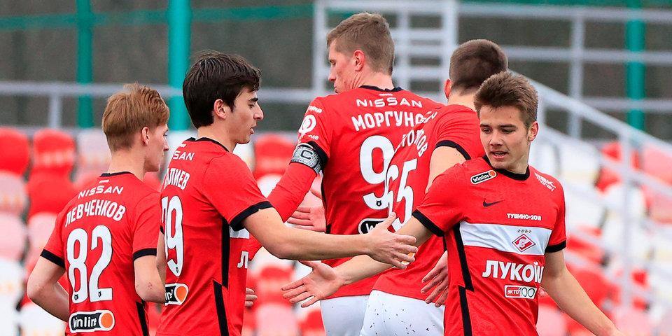 «Спартак» обыграл ЦСКА в матче молодежного первенства