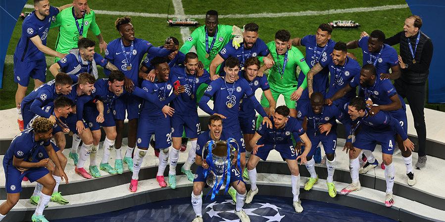 Канте не попал в команду сезона Лиги чемпионов
