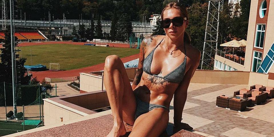 Голый спорт. Елена Никитина