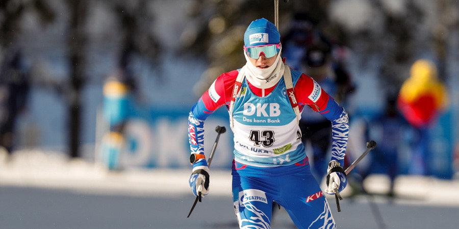 Миронова первой из россиянок стартует в спринте на заключительном этапе Кубка мира