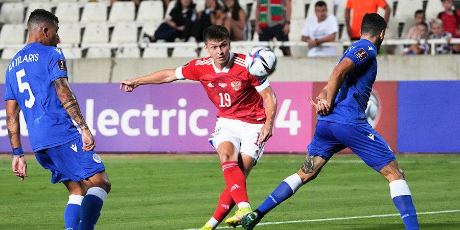 Рифат Жемалетдинов в эфире «Матч ТВ»: «Спасибо пришедшим болельщикам на матч с Кипром, мы играли словно дома»