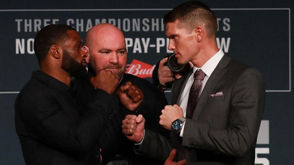 Вудли и Томпсон вновь встретятся на UFC 209