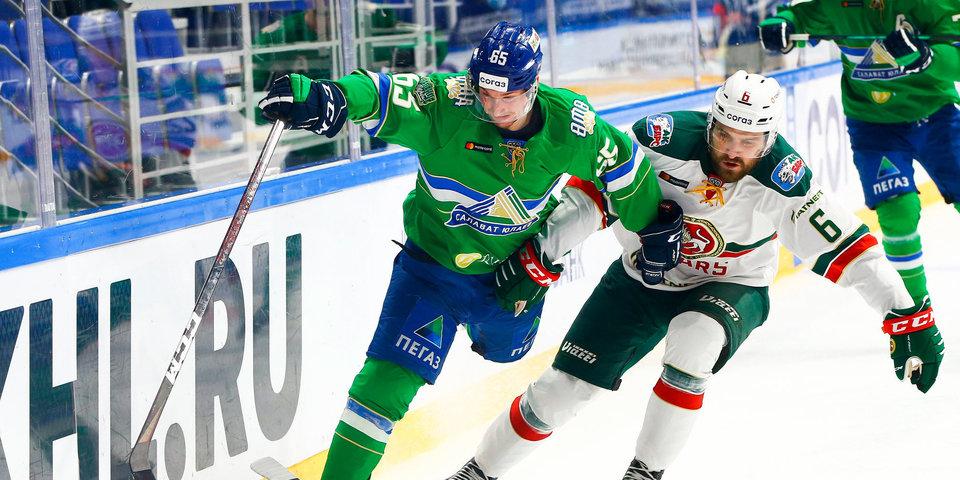 «Ак Барс» обыграл «Салават Юлаев» и увеличил преимущество в серии