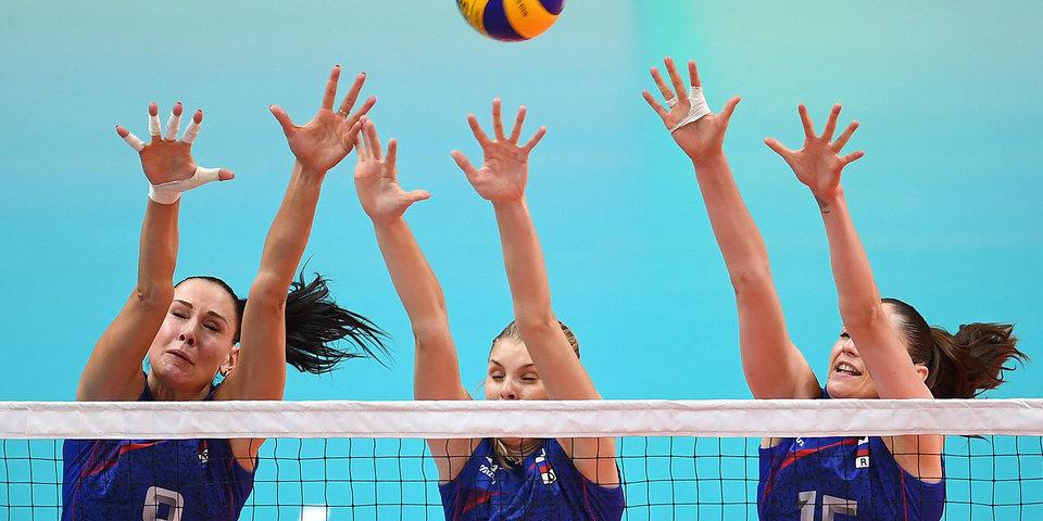 Россиянки потерпели третье поражение подряд в Лиге наций