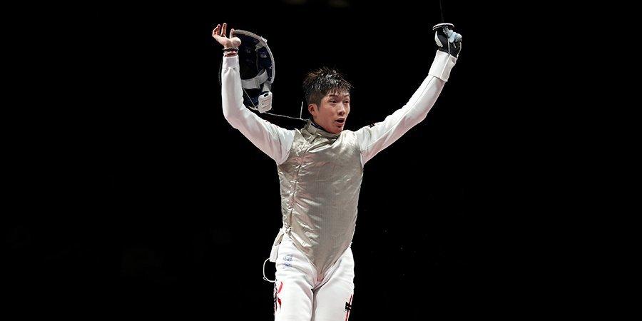 Чэнг из Гонконга завоевал золото Олимпийских игр в фехтовании на рапирах