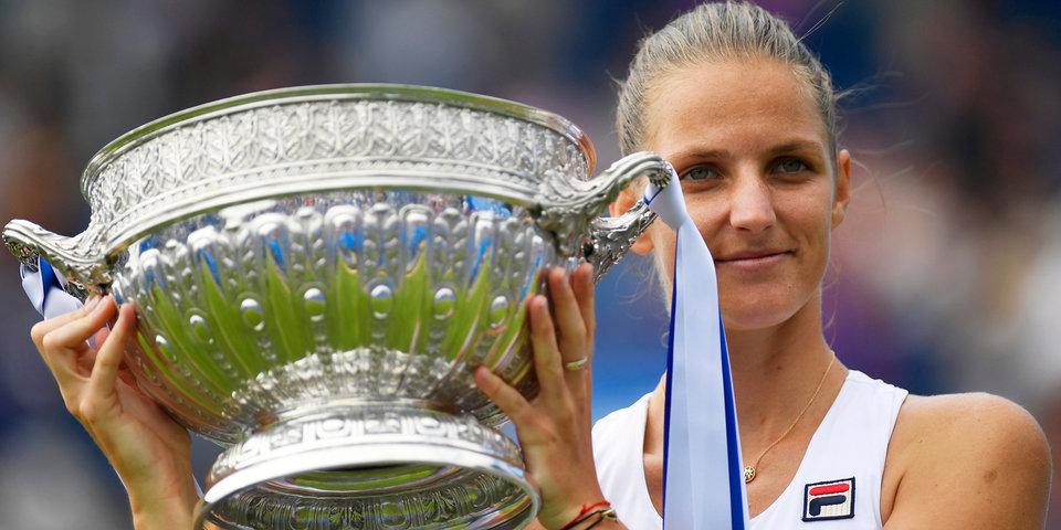 Плишкова – победитель турнира в Истбурне