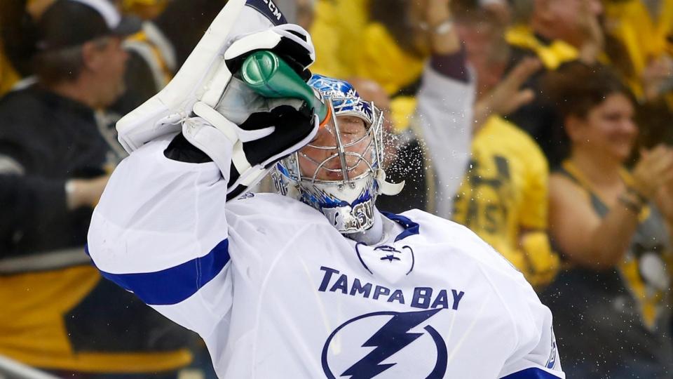 Василевский — первая звезда игрового дня в НХЛ