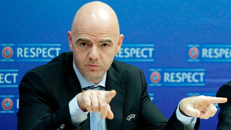 Джанни Инфантино: «Мир нуждается в сильном Российском футбольном союзе»