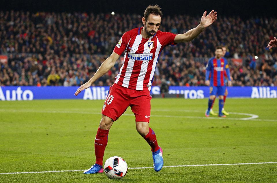 «Атлетико» лишился одного из защитников перед встречей с «Арсеналом» на «Эмирейтс»