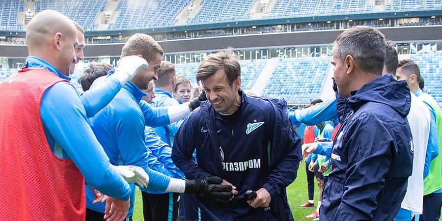 Игроки пощадили Семака и наказали Азмуна. «Зенит» готовится к «Локомотиву» — пока без Дзюбы