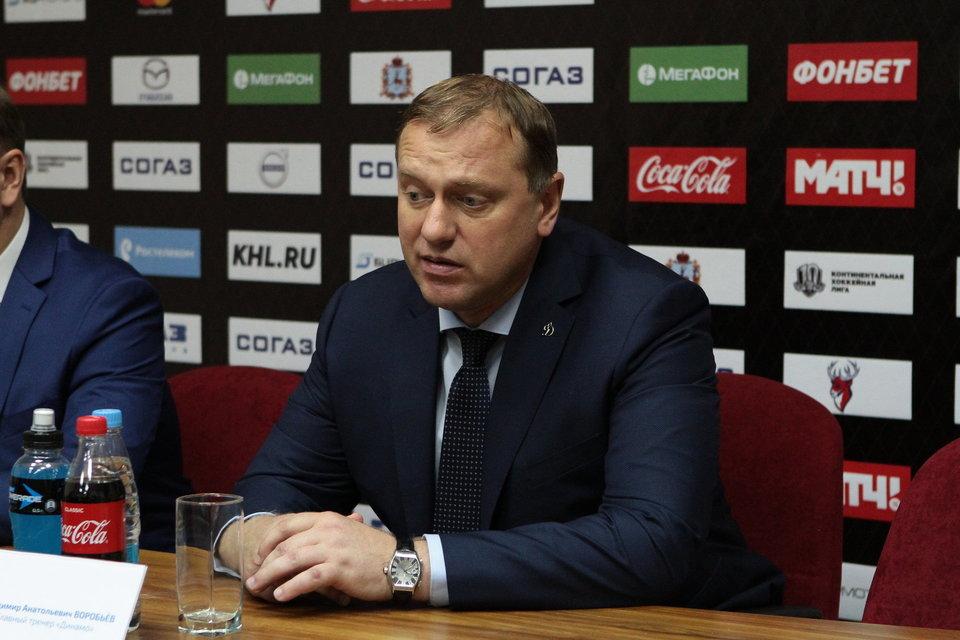 Владимир Воробьев: «Проблем с игроками у меня нет, в команде хороший микроклимат»