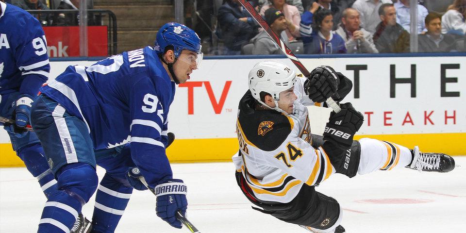 Игорь Ожиганов забросил первую шайбу в НХЛ