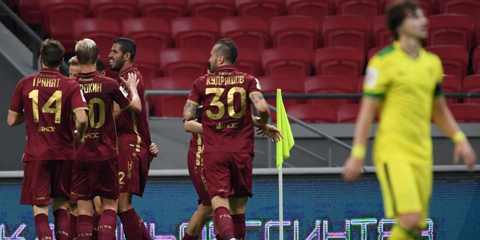 «Рубин» забил 6 мячей в ворота «Анжи»