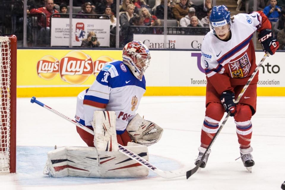 Пастрнак признан первой звездой дня в НХЛ