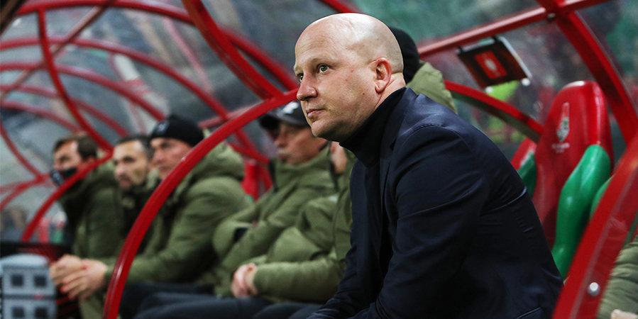 Валерий Баринов: «Я не расстроен за Николича, но у меня отняли любимую команду»