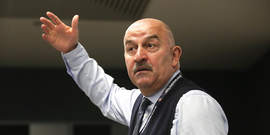 Станислав Черчесов: «Мы хотели выиграть, настраивались на это»