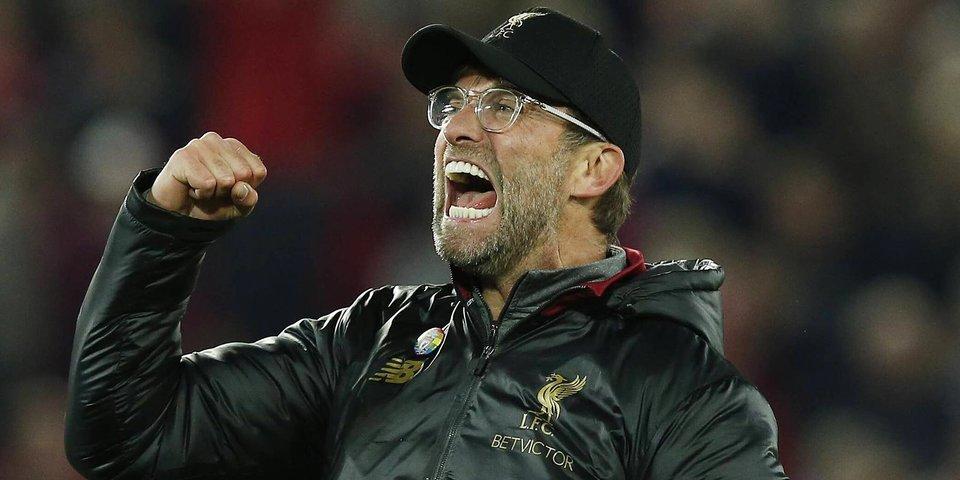 Юрген Клопп: «Первая часть сезона сложилась для «Ливерпуля» великолепно»