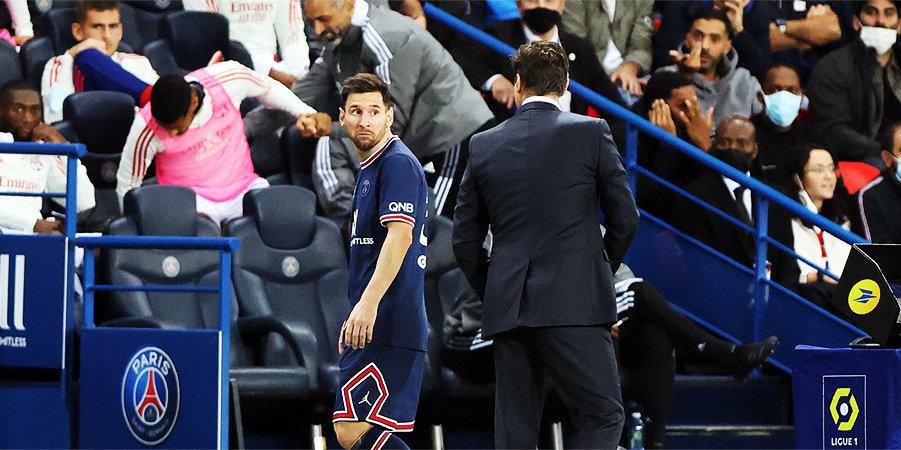 Месси заменили впервые за 11 лет не по причине травмы. Лео не пожал руку Почеттино — это его не первые проблемы с тренерами