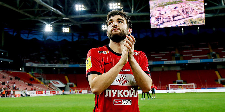 Георгий Джикия: «Газизов всегда рядом с командой. Сегодня заходил в раздевалку и поздравил с победой»