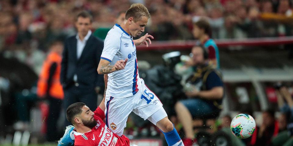 ЦСКА: «Ефремов выбыл на длительный срок из-за разрыва связок колена»