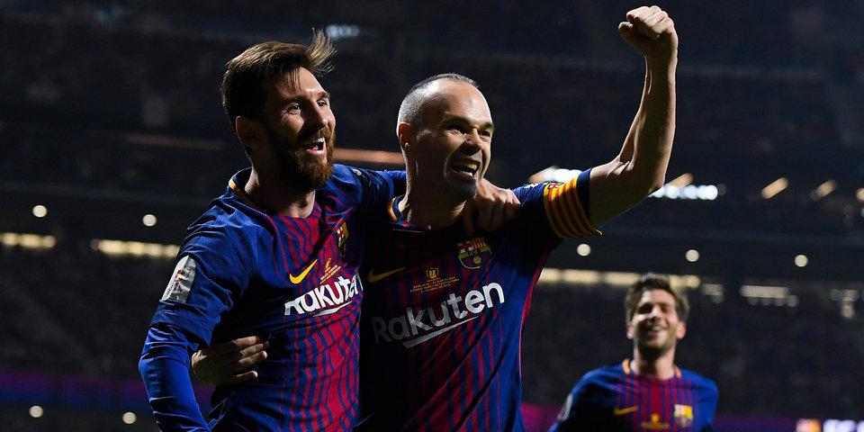 Месси стал самым титулованным игроком «Барселоны»