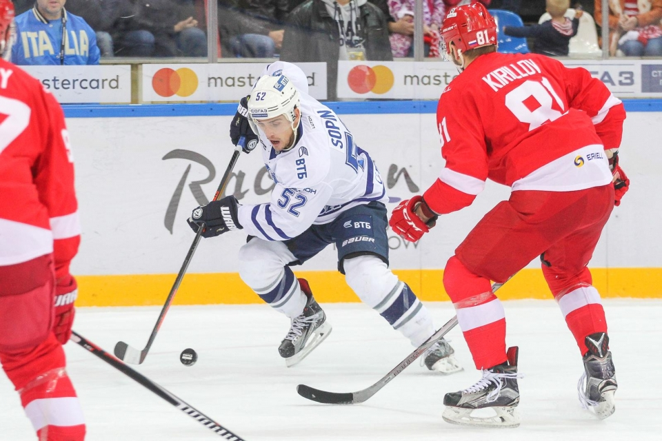 «Сибирь» пополнил обладатель Кубка Гагарина