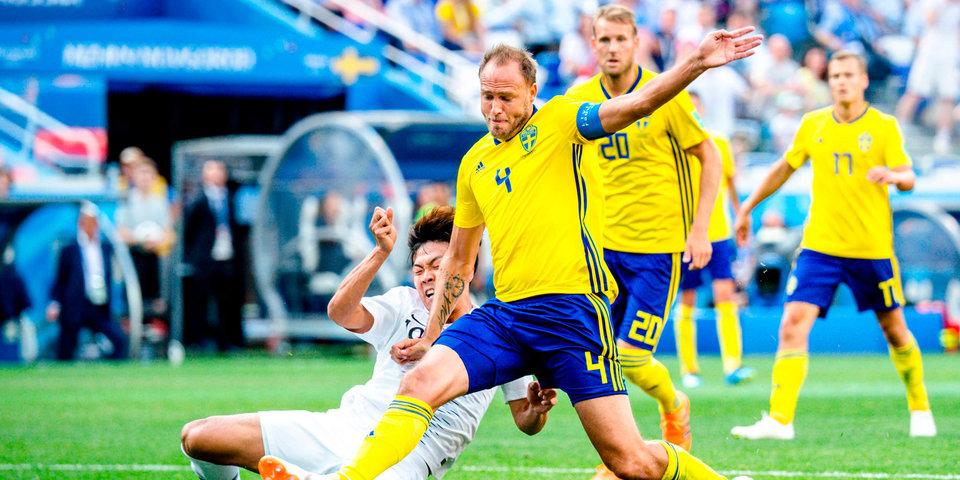 Гранквист и Классон принесли Швеции победу над корейцами: лучшие моменты