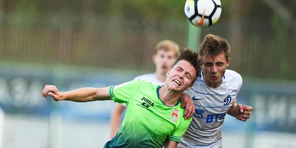 «Динамо» и «Уфа» не сумели забить в матче молодежного первенства