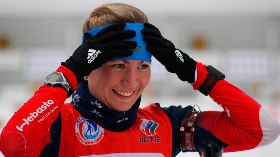 Сливко победила в спринтерской гонке в Германии
