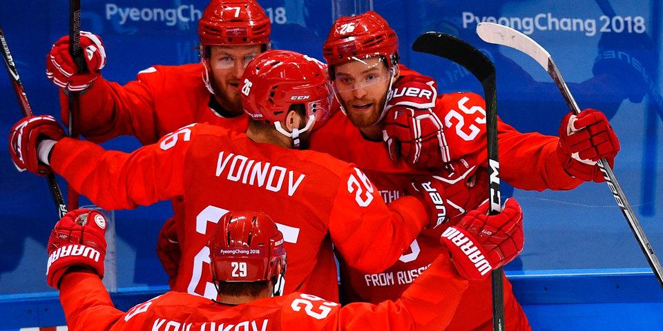 Определились полуфинальные пары хоккейного турнира на Олимпиаде