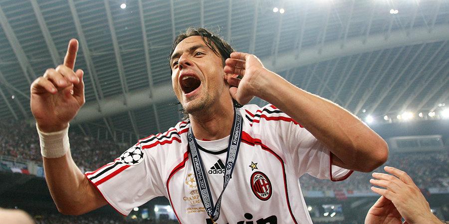 Галлиани предложил Анчелотти не ставить Индзаги — форвард вышел в основе и сделал дубль. Разбираем победу «Милана» в финале ЛЧ-2007