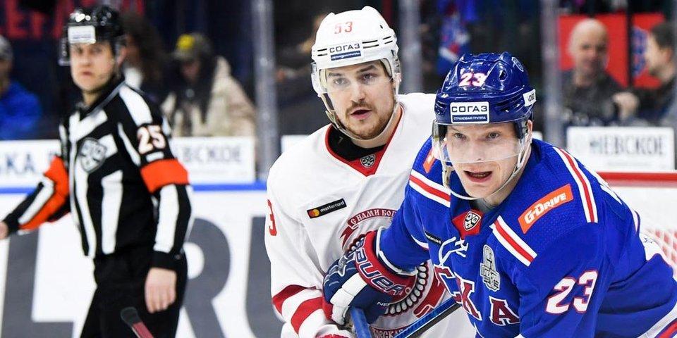 СКА снова обыграл «Витязь» в Санкт-Петербурге в рамках первого раунда Кубка Гагарина