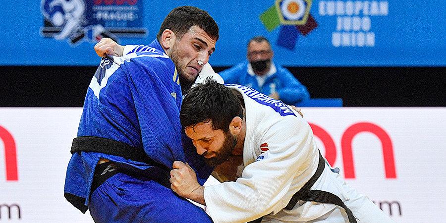 Россия заняла второе место в медальном зачете ЧЕ по дзюдо