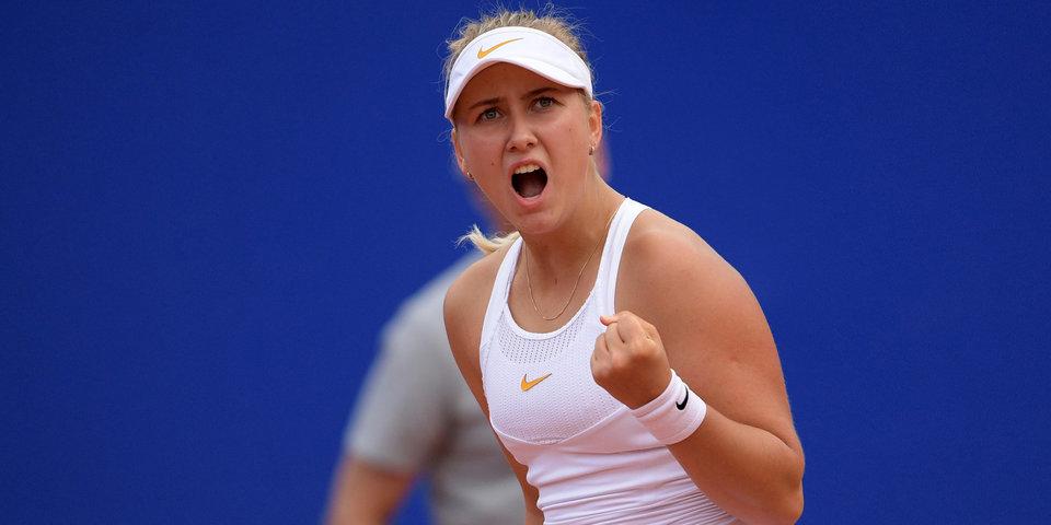 Тамара Зиданшек стала полуфиналисткой турнира в столице России
