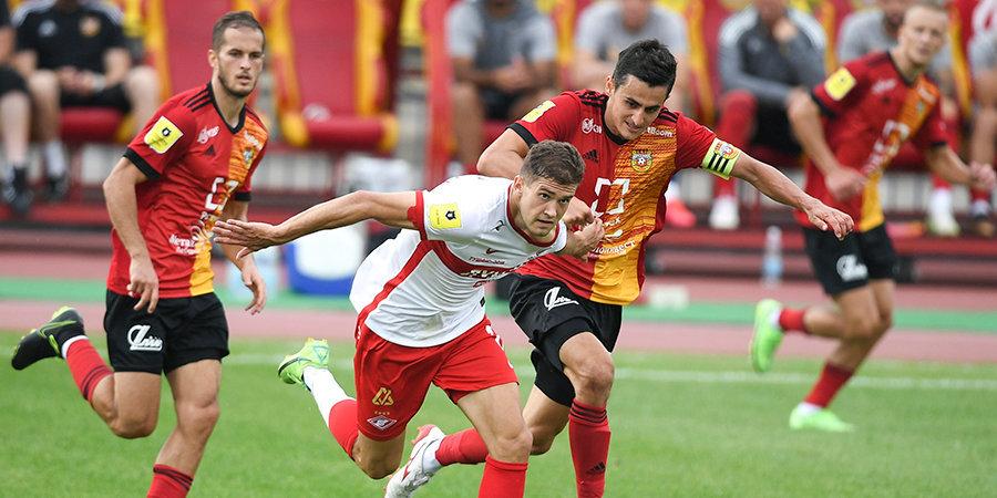 «Спартак» и «Арсенал» впервые в истории РПЛ сыграли вничью