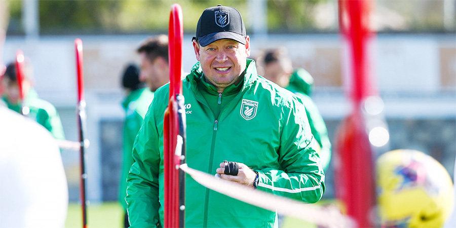 «Рубин» готовится провести матч с «Оренбургом» 5 июля