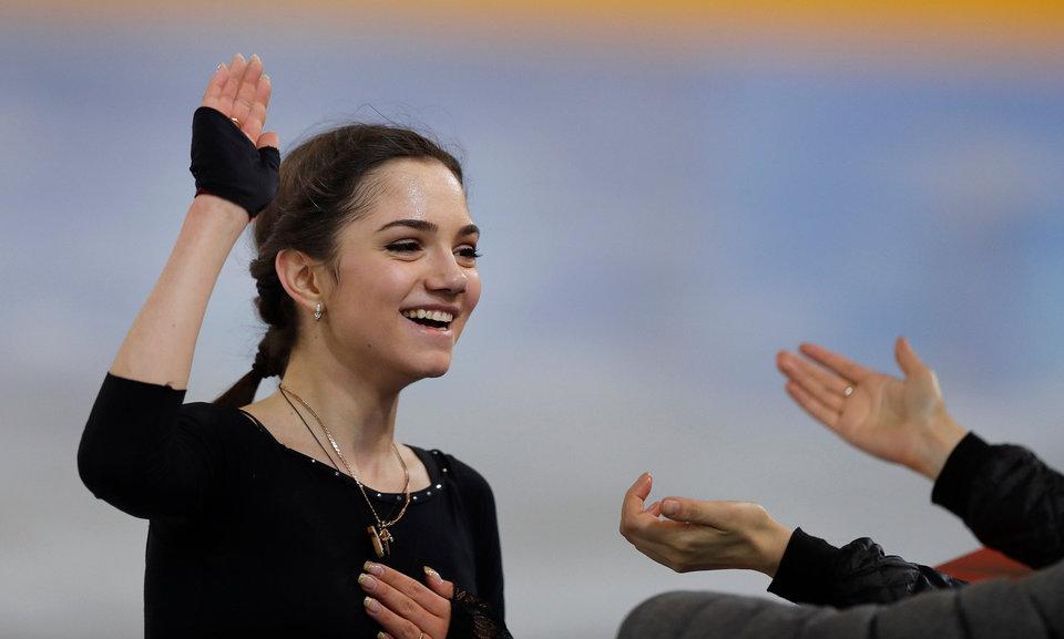 Евгения Медведева: «В планах ли следующая Олимпиада? Да, мне нравится соревноваться»