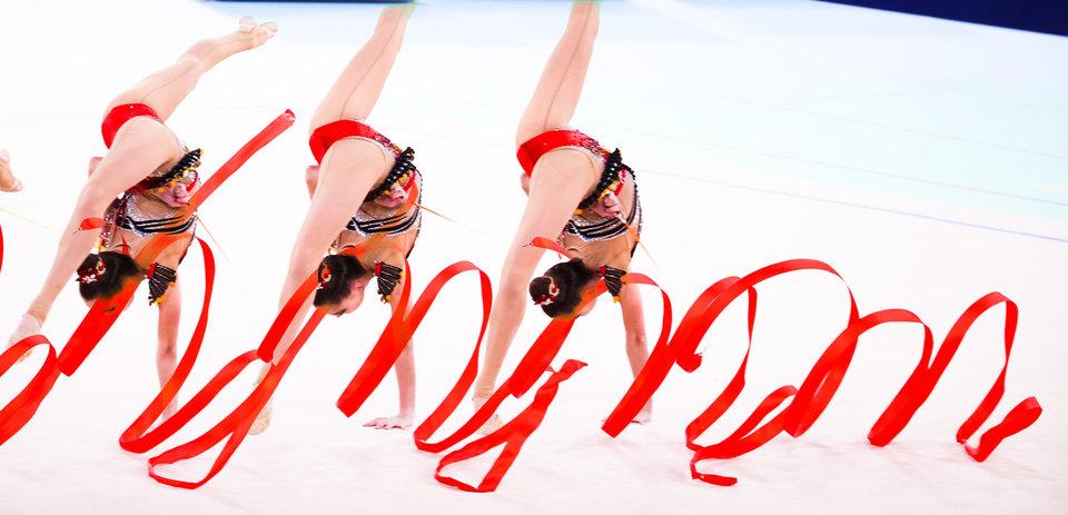 Сборная Болгарии по художественной гимнастике выступит на чемпионате мира