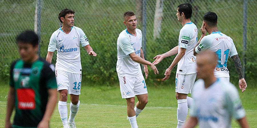 «Зенит» разнес бывший клуб Черчесова после отпуска. Джорджевич отдал голевую на Заболотного (Антон забил два!)