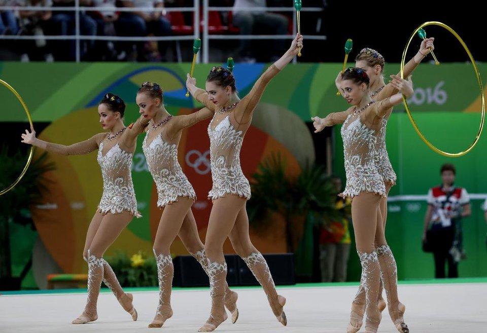 Российские художницы выиграли семь золотых медалей на этапе Гран-при в Израиле