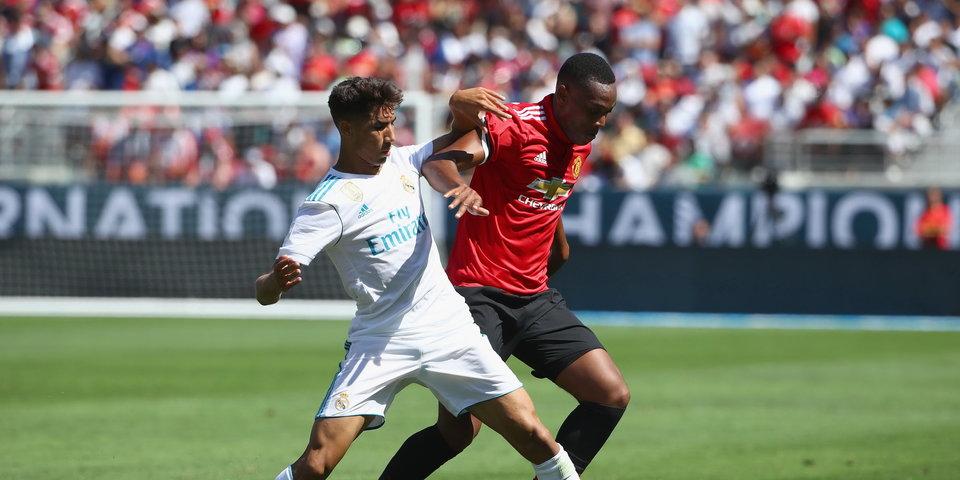Марсьяль делает больно защите «Реала», а затем и своим болельщикам