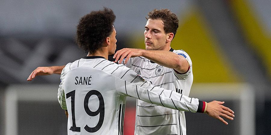 Сборная Германии разгромила Исландию в стартовом туре отборочного раунда ЧМ-2022