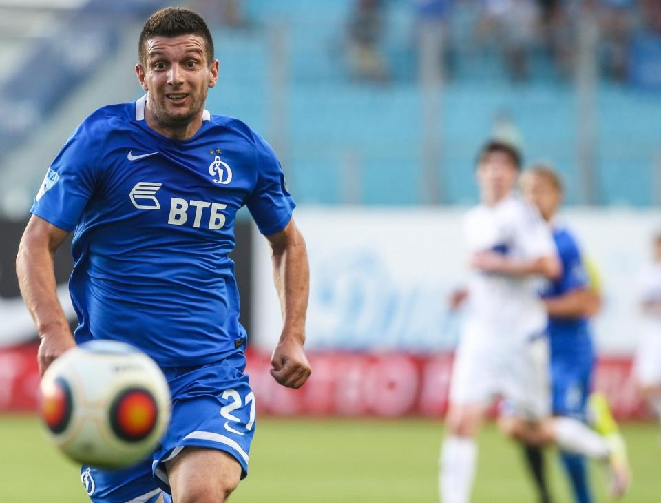 Дебютный гол Вандерсона позволил «Динамо» переиграть «Лудогорец»